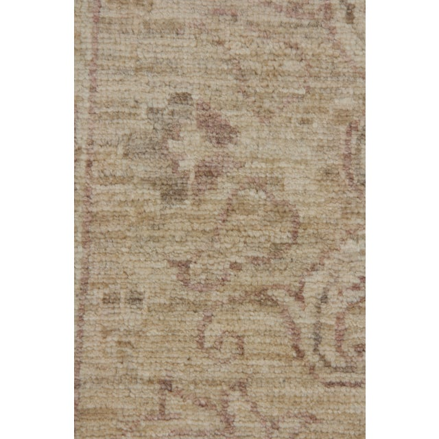 """Islamic New Oushak Hand Knotted Area Rug - 6'2"""" X 8'5"""" For Sale - Image 3 of 4"""