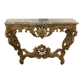18th Century Traditional Console Table For Sale
