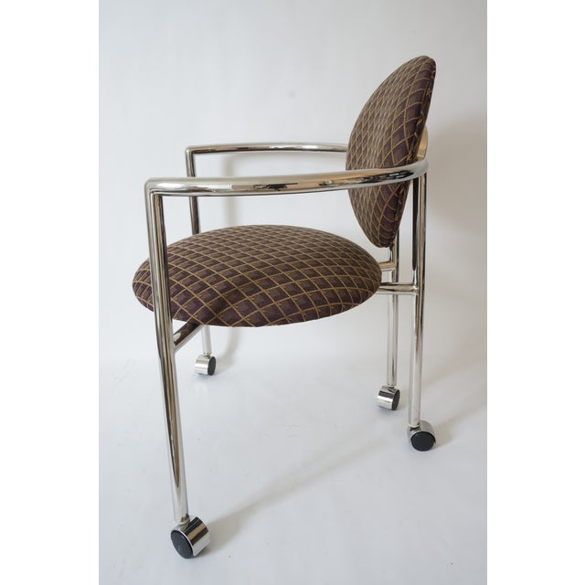 """Contemporary Vintage Stanley Jay Friedman for Brueton """"Moon Chair"""" - 4 Are Available For Sale - Image 3 of 9"""