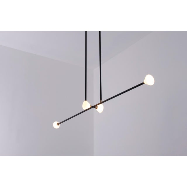 Not Yet Made - Made To Order Apollo 4 Chandelier by McKenzie & Keim For Sale - Image 5 of 13