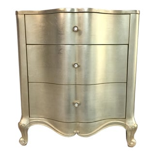 Caracole Gold Nightstand For Sale