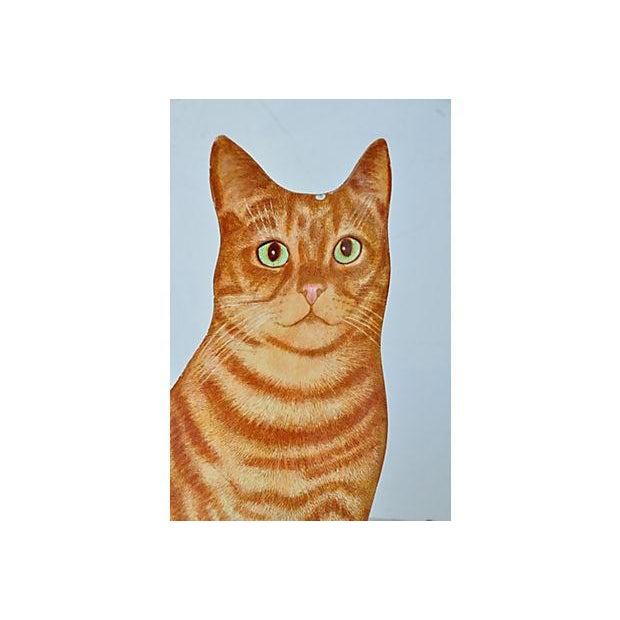Piero Fornasetti Painted Lightograph Cat Waste Bin - Image 3 of 6