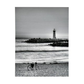 Lighthouse & Bicycle by Richard Singer For Sale