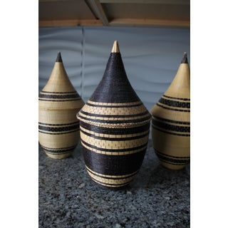 Rwanda Handmade Baskets - Set of Three Preview