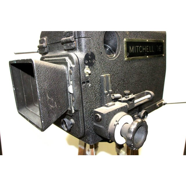 Art Deco Original Mitchell Camera 16mm Camera Studio Blimp Housing. Circa 1940. Display As Sculpture. For Sale - Image 3 of 6