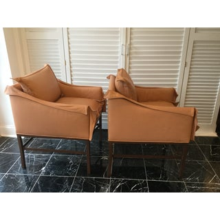 1990s Vintage Leather Chairs- a Pair Preview