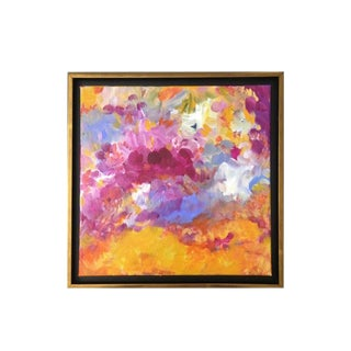 No. 5 Original Abstract Painting by Lindsey Weicht For Sale