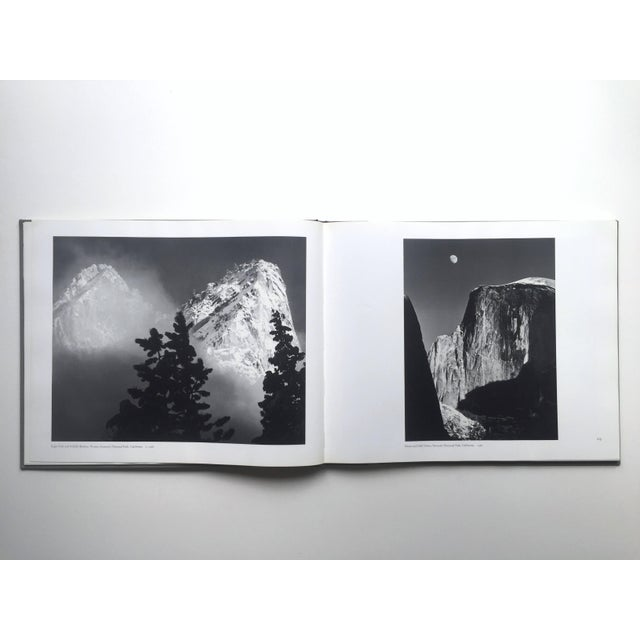 """1970s """" Ansel Adams Images """" Rare 1st Edition 1974 Oversized Monumental Slipcase Collector's Book For Sale - Image 5 of 13"""