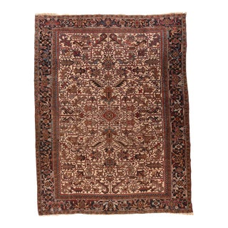 Antique Persian Heriz Rug For Sale