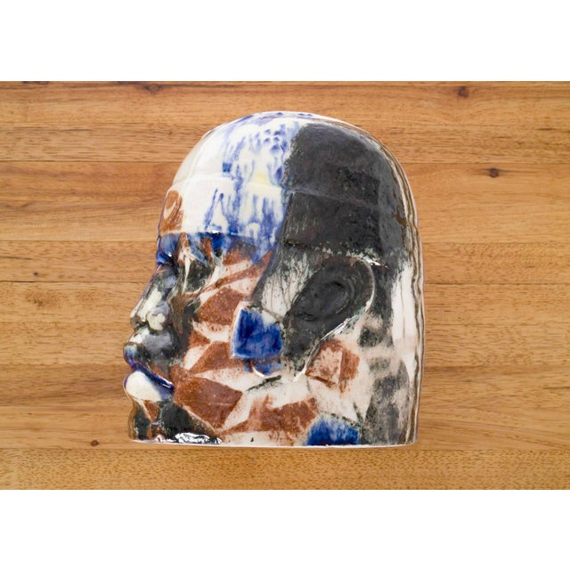 Olmec Head by Eric Ledoux For Sale - Image 4 of 8