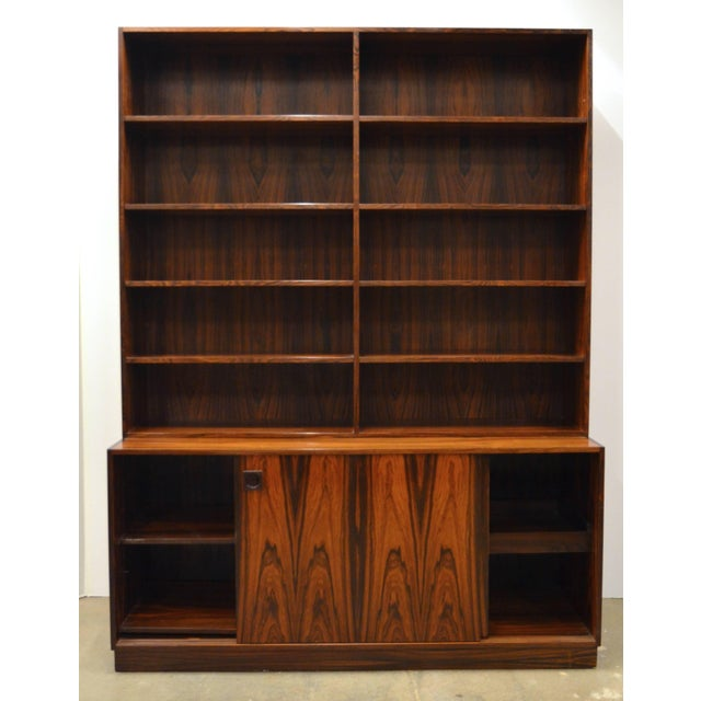 Mid-Century Modern Mid-Century Modern Danish Rosewood Bookcase For Sale - Image 3 of 10