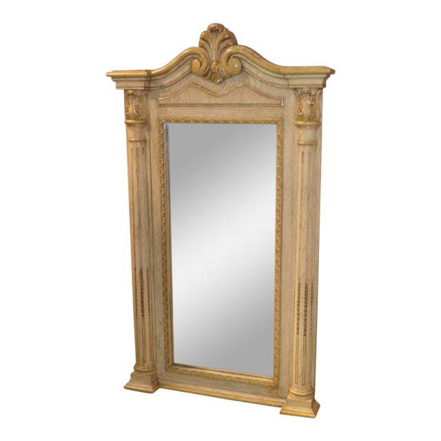Cellini Furniture Neo-Classic Style Italian Wall Mirror For Sale