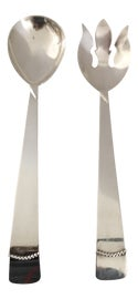 Image of Silver Finish Flatware and Silverware