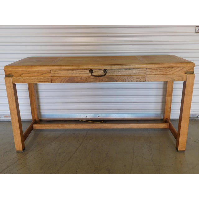Mid-Century Campaign Desk by Altavista Lane - Image 2 of 11