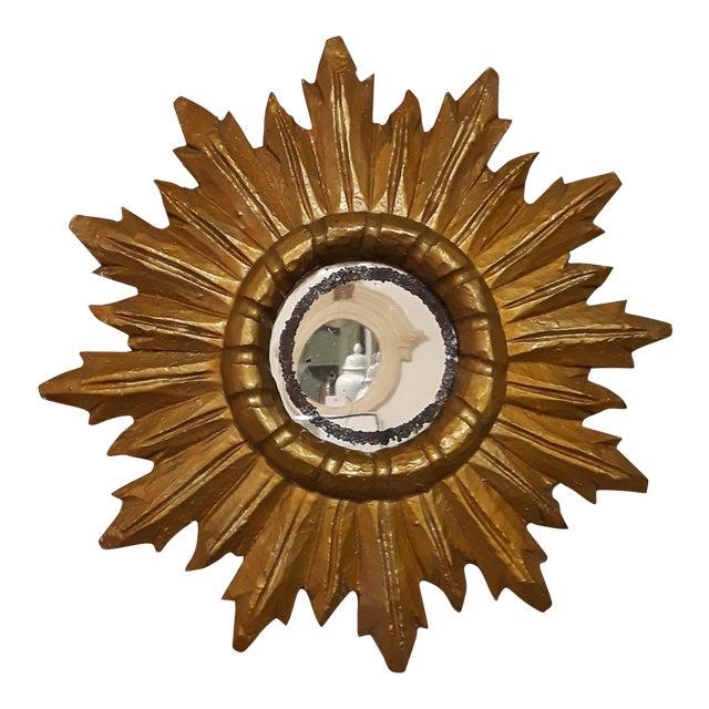 Vintage Sunburst Mirror - Image 1 of 4