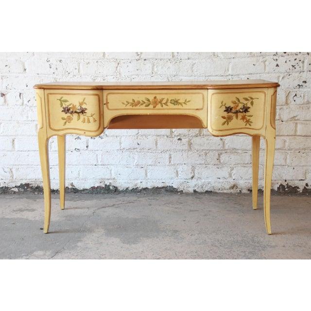 John Widdicomb Vintage French Writing Desk For Sale - Image 12 of 12
