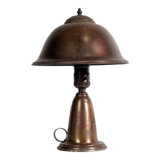 1930s Brass Table Lamp For Sale