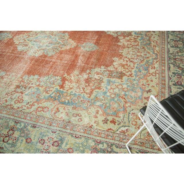"""Vintage Distressed Arak Carpet - 10' x 13'3"""" For Sale - Image 5 of 10"""