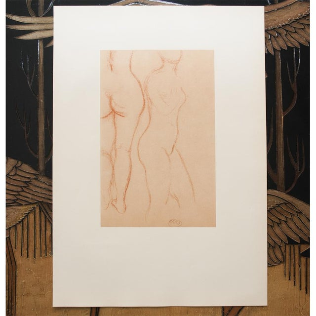 1950s Aristide Maillol, Studies Vintage Hungarian Print For Sale In Dallas - Image 6 of 9
