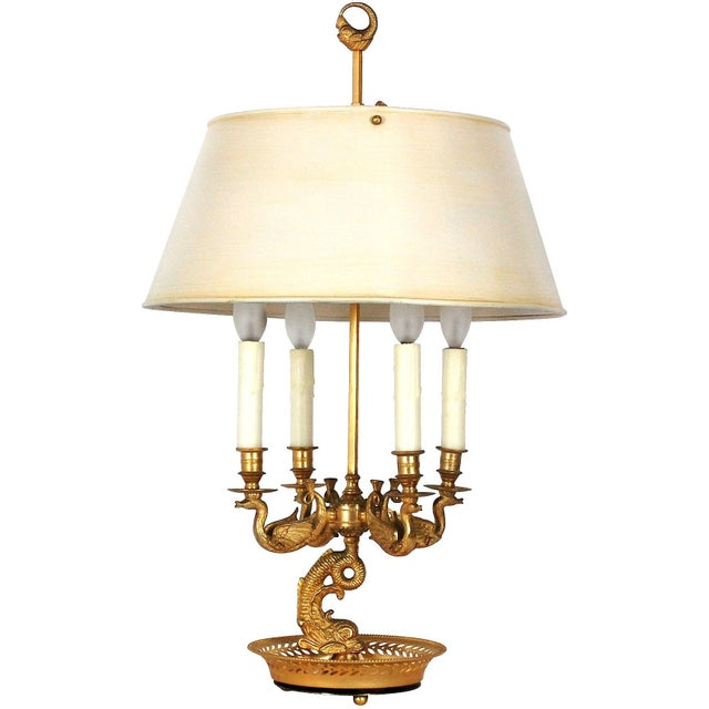 Antique French Bouilloutte Lamp - Image 7 of 10