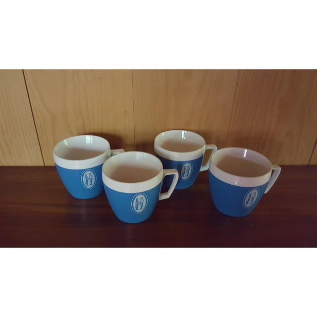 Vintage Coffee Cups - Set of 4 - Image 3 of 6
