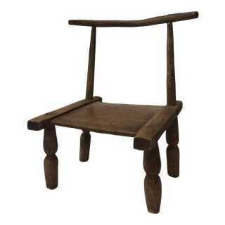 1940s African Child's Chair For Sale