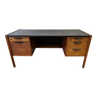 Mid-Century Modern Jens Risom Executive Desk For Sale