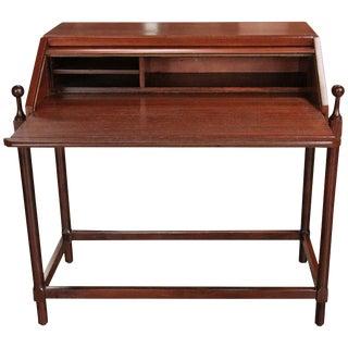 Italian Wood Desk by Fratelli Proserpio For Sale
