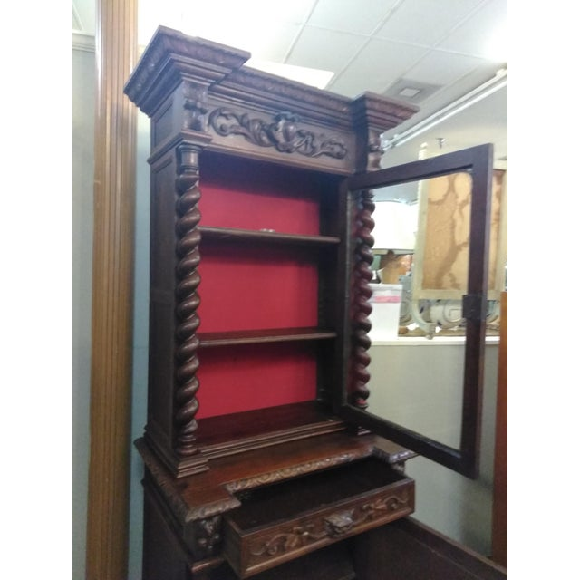 19th Century French Hunter's Cabinet/Bookcase For Sale In Houston - Image 6 of 13