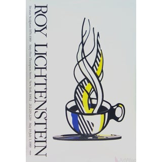Roy Lichtenstein, Cup and Saucer, 1989 Poster For Sale