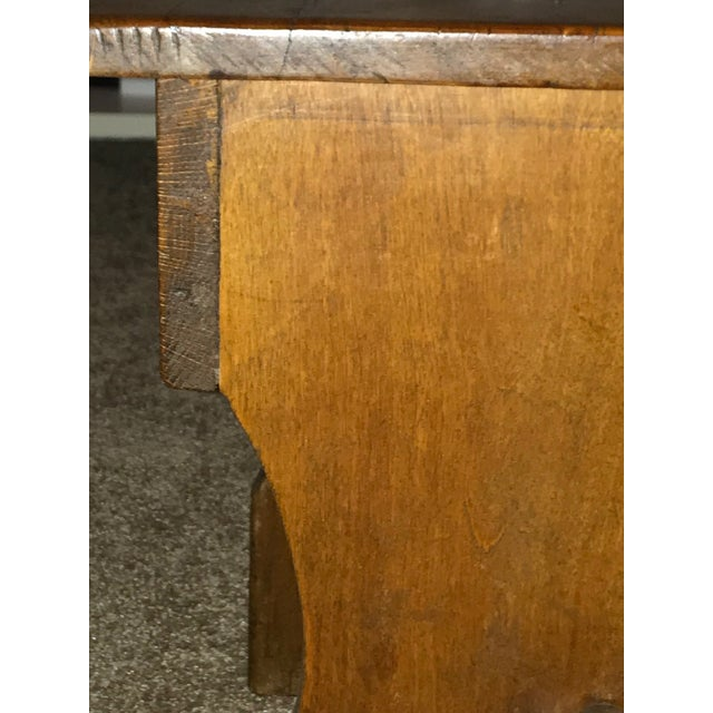 Late 1880s Antique Primitive Wood Chair For Sale - Image 4 of 7