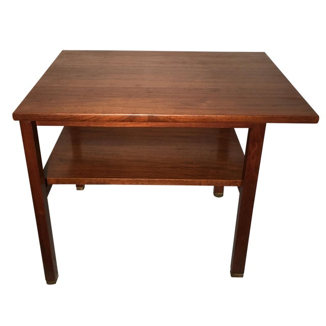 Edward Wormley for Dunbar 2 Tier Lamp Table - Image 1 of 6