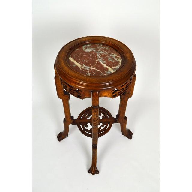 Japonisme Pedestal Table / Pot Stand For Sale - Image 4 of 13