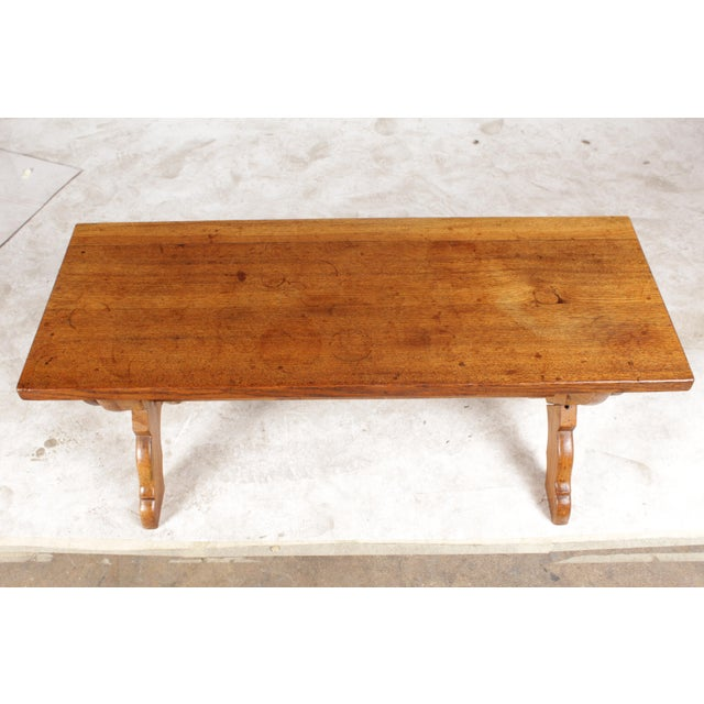 X-Leg Belgian Coffee Table For Sale - Image 4 of 6