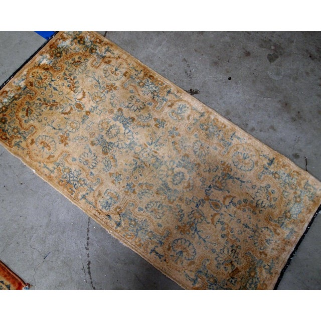1920s, Handmade Antique Persian Kerman Rug 2.10' X 5.3' - 1b703 For Sale In New York - Image 6 of 10