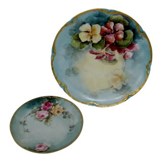 Haviland Limoges Plates, Set of 2 For Sale