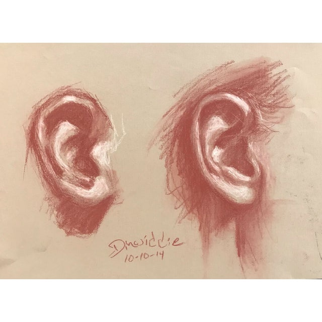 Contemporary Ear Study by Dinwiddie For Sale
