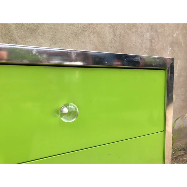 Mid-Century Modern 1970s Mid-Century Modern Thomasville Lowboy Dresser For Sale - Image 3 of 8