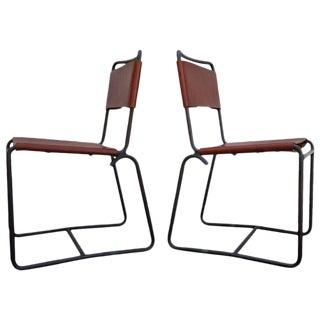 Walter Lamb Bronze Chairs