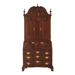 Chippendale Kindel Winterthur Collection Mahogany Updyke Secretary Desk For Sale