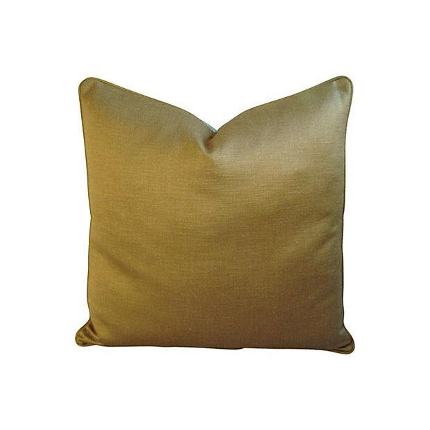 Custom Brunschwig & Fils Romantic Toile Pillow - Image 2 of 3