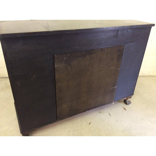 Vintage Chinoiserie-Style Flip Top Bar or Buffet - Image 5 of 9