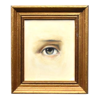 Contemporary Lover's Eye Oil Painting of Napoleon by Susannah Carson For Sale