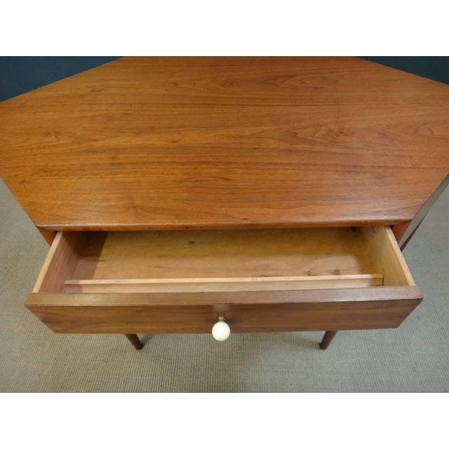 Drexel Drexel Declaration Mid Century Corner Desk For Sale - Image 4 of 4
