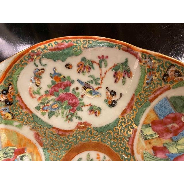 Asian Famille Rose Shrimp Dish For Sale - Image 3 of 10