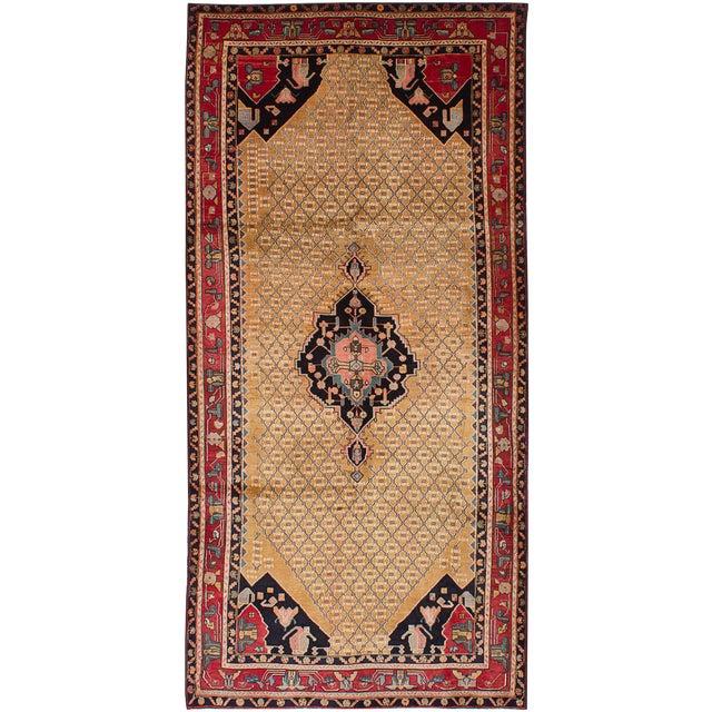 "Vintage Persian Koliai Rug- 5' x 10'6"" - Image 1 of 2"