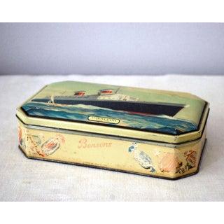 1950s Bensons Nautical English Candy Tin Preview