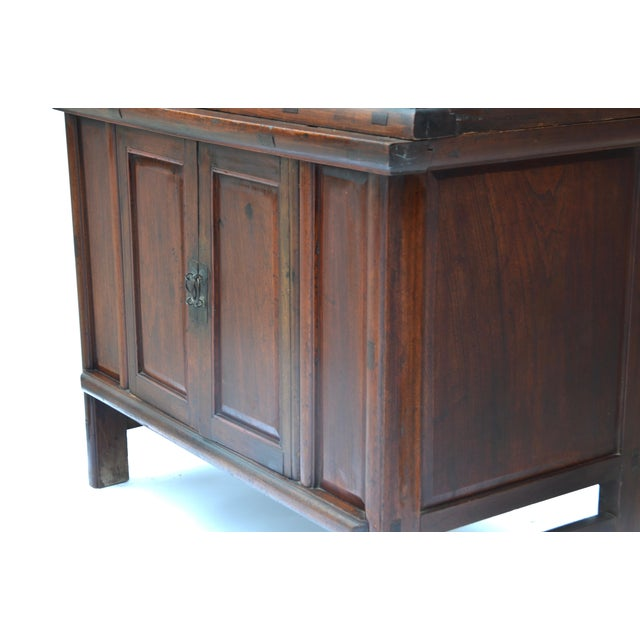 Brown 19th Century Chinese Camphor Wood Cabinet For Sale - Image 8 of 12