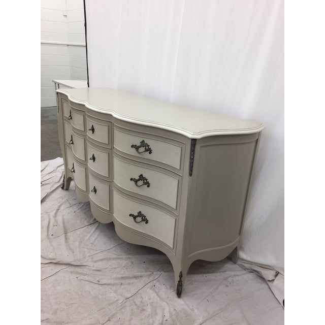 Vintage Hand Painted French Style Dresser - Image 10 of 11