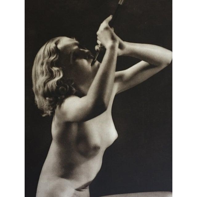 Modern John Eeverard 1930 Vintage Nude Photogravure For Sale - Image 3 of 4